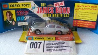 Corgi 261//270 James Bond Aston Martin DB5 1960 s X4 Pneus NOUVEAU Remplacements